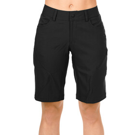 SQUARE Active Baggy Shorts inkludert innershorts Dame black